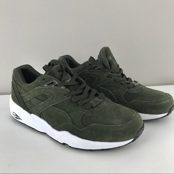 new product 59d54 48261 Puma NEW mens R698 allover suede trinomic sneaker NWT